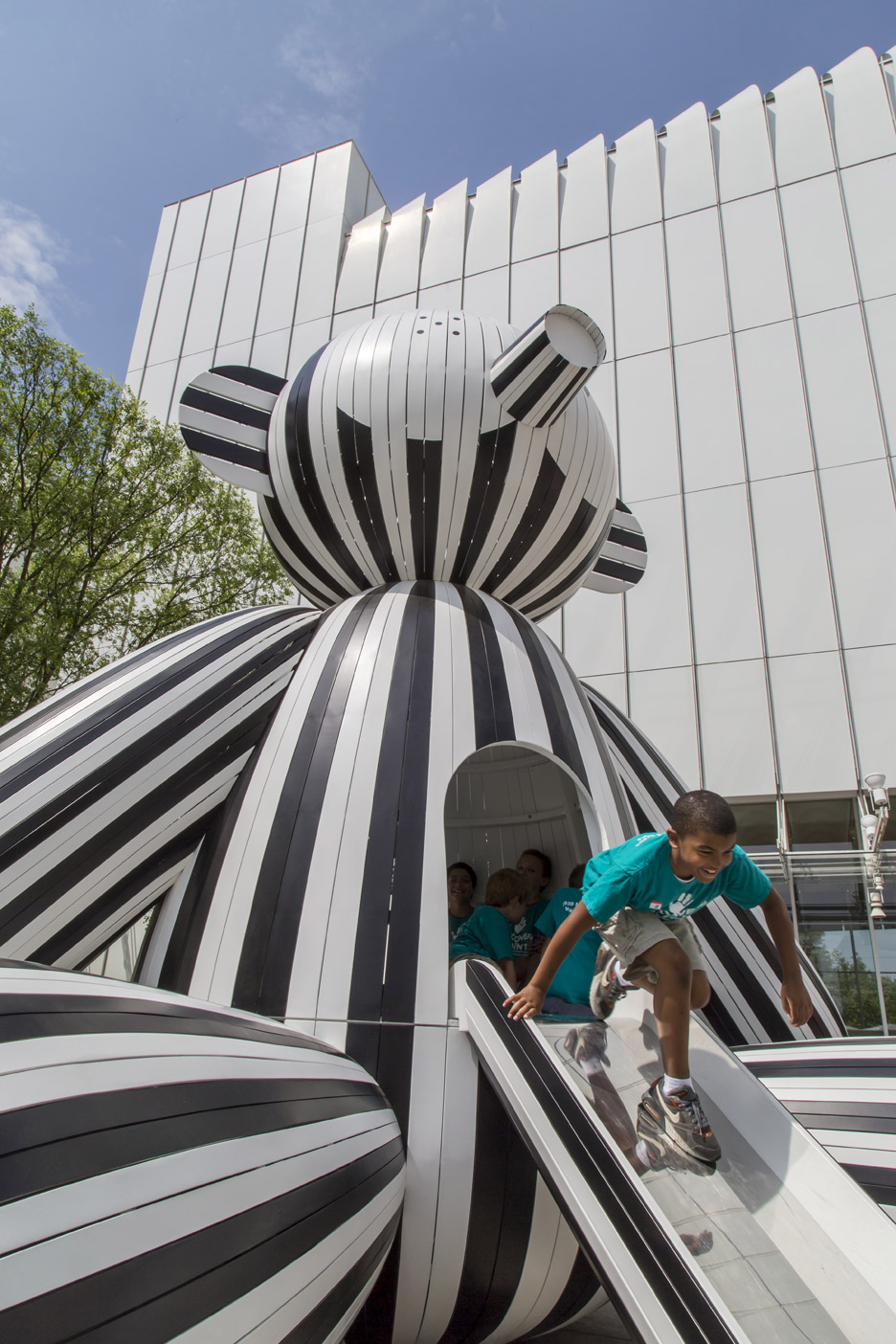Tiovivo: whimsical sculptiures exhibition by Jaimé Hayon at the High Museum of Art in Atlanta