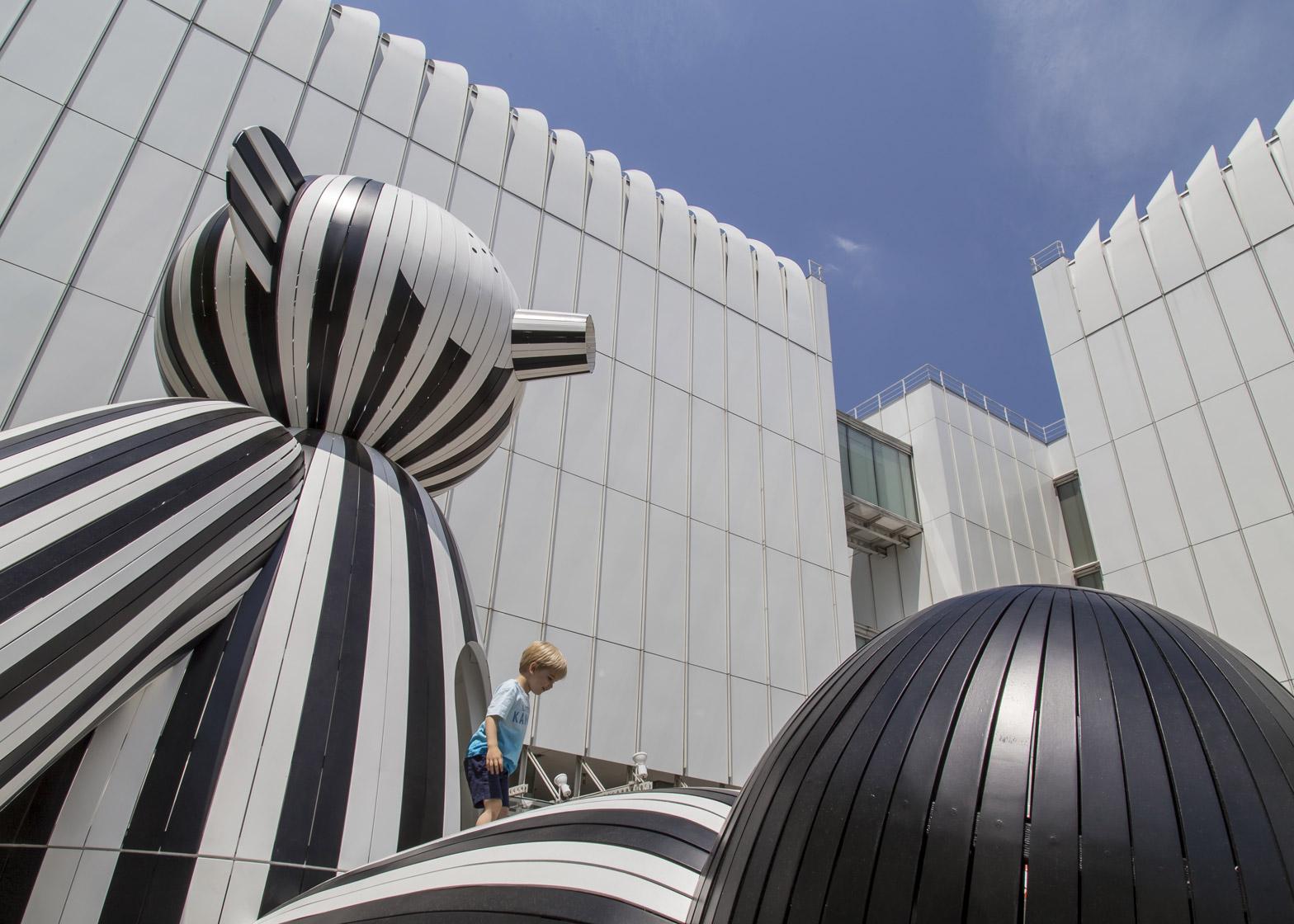 Tiovivo: whimsical sculptiures exhibition by Jaimé Hayon at the High Museum of Art in Atlanta