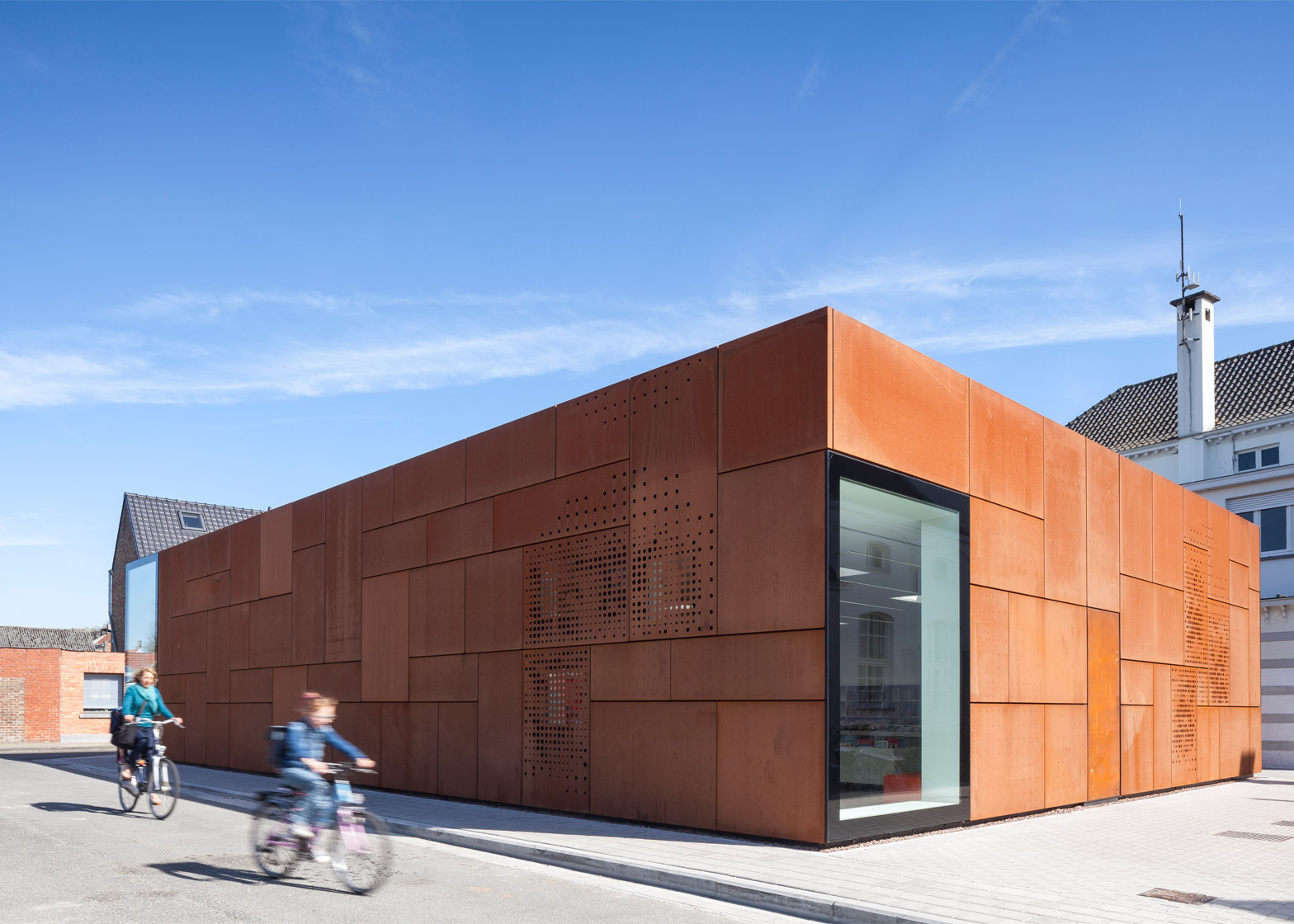 City Library, Bruges, Belgium, by Studio Farris Architects