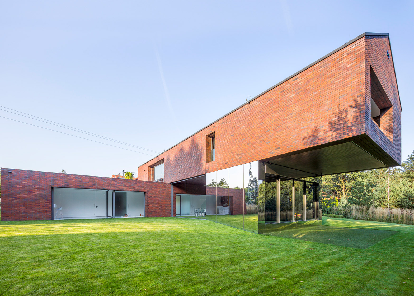 Living-Garden House in Izbica, Izbica, Poland, by Robert Konieczny and KWK Promes
