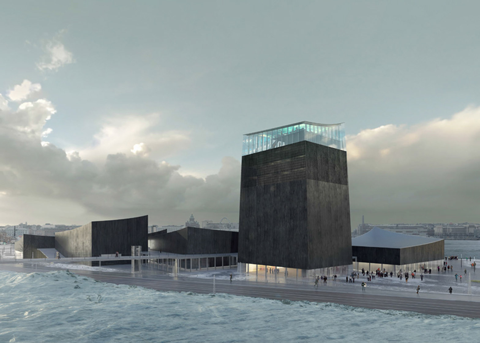 Guggenheim Helsinki Museum, Helsinki, Finland, by Moreau Kusunoki Architectes