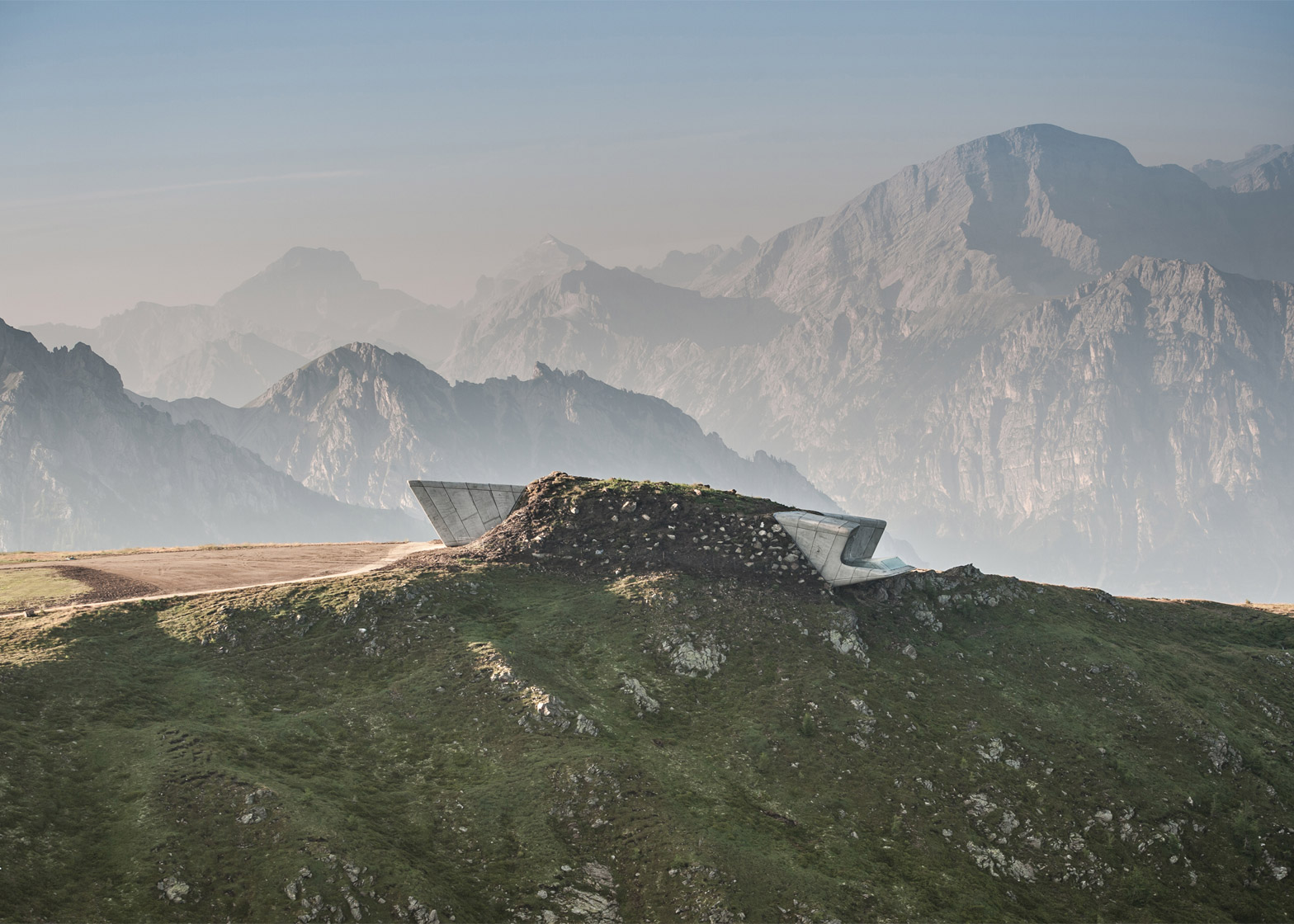Messner Mountain Museum, Corones, Kronplatz, South Tyrol, Italy, by Zaha Hadid Architects