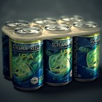Saltwater Brewery's edible six-pack rings protect marine wildlife