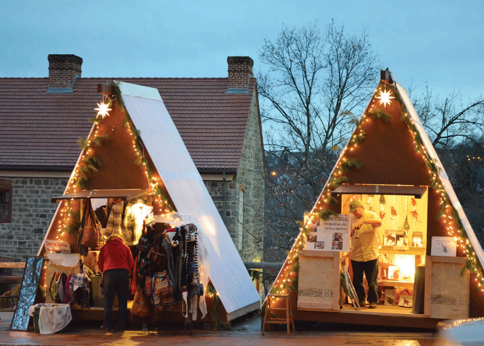 Weihnachts Huts by NAD