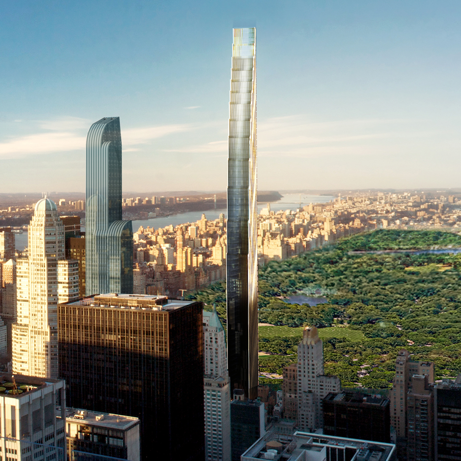 SHoP Architects' skinny skyscraper for West 57th Street