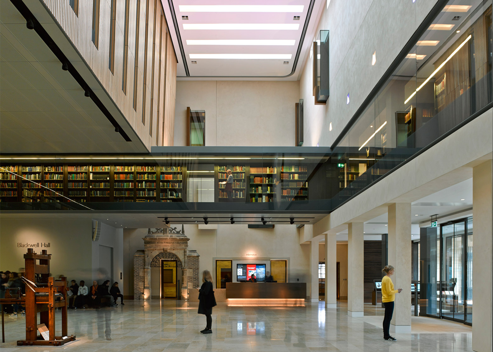 Weston Library by WilkinsonEyre. Photograph by James Brittain. Photograph by James Brittain