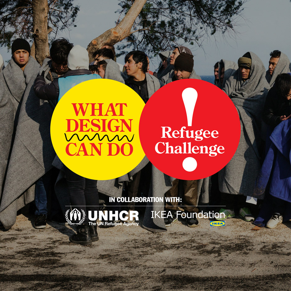 What Design Can do 2016 refugee challenge shortlist