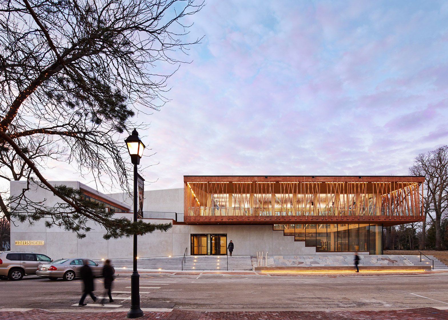 Writers Theatre, Glencoe, Illinois, USA, by Studio Gang Architecture
