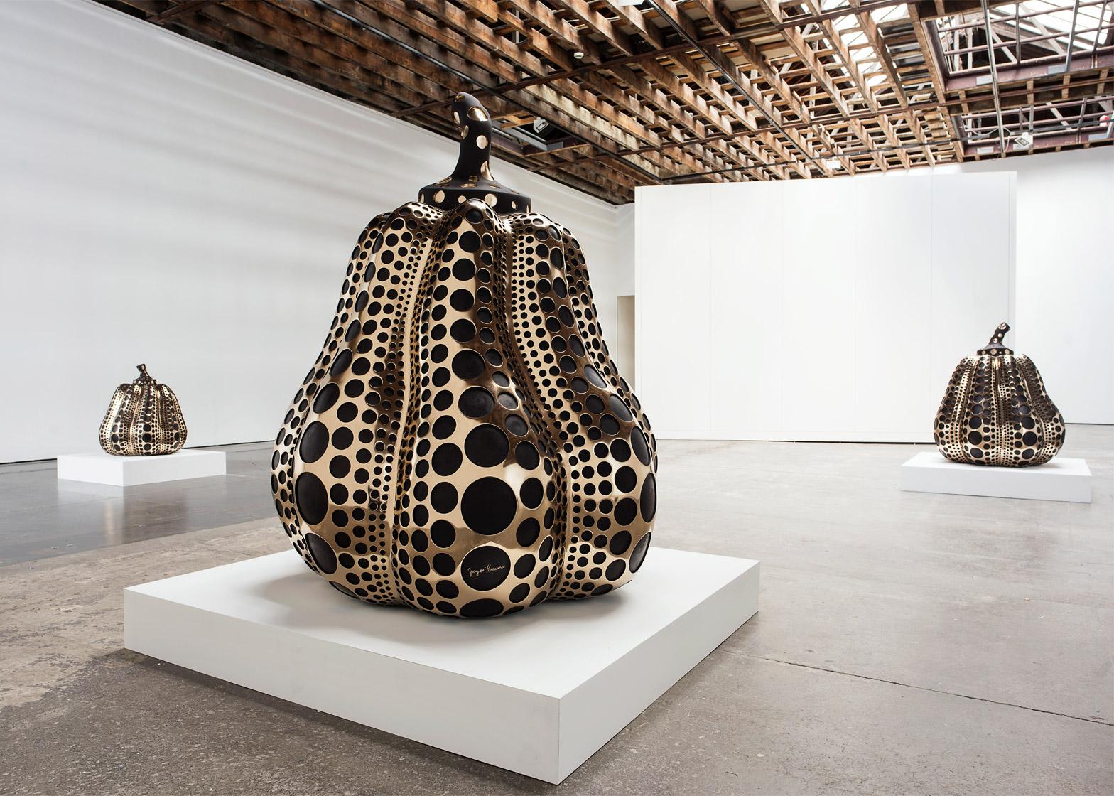 Yayoi Kusama installation