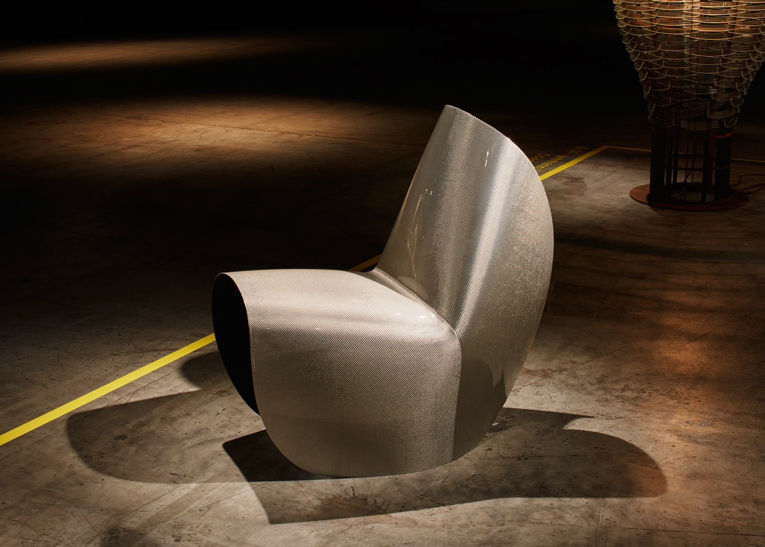 Zaha Hadid Kuki chair for Hypetex