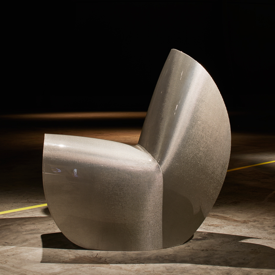 Zaha Hadid Kuki chair for Hypetex