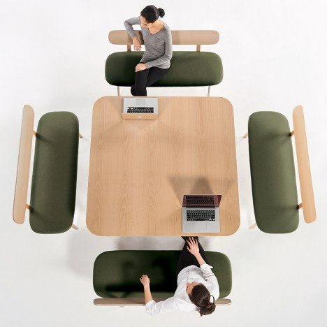 PearsonLloyd and Teknion create more furniture for open offices
