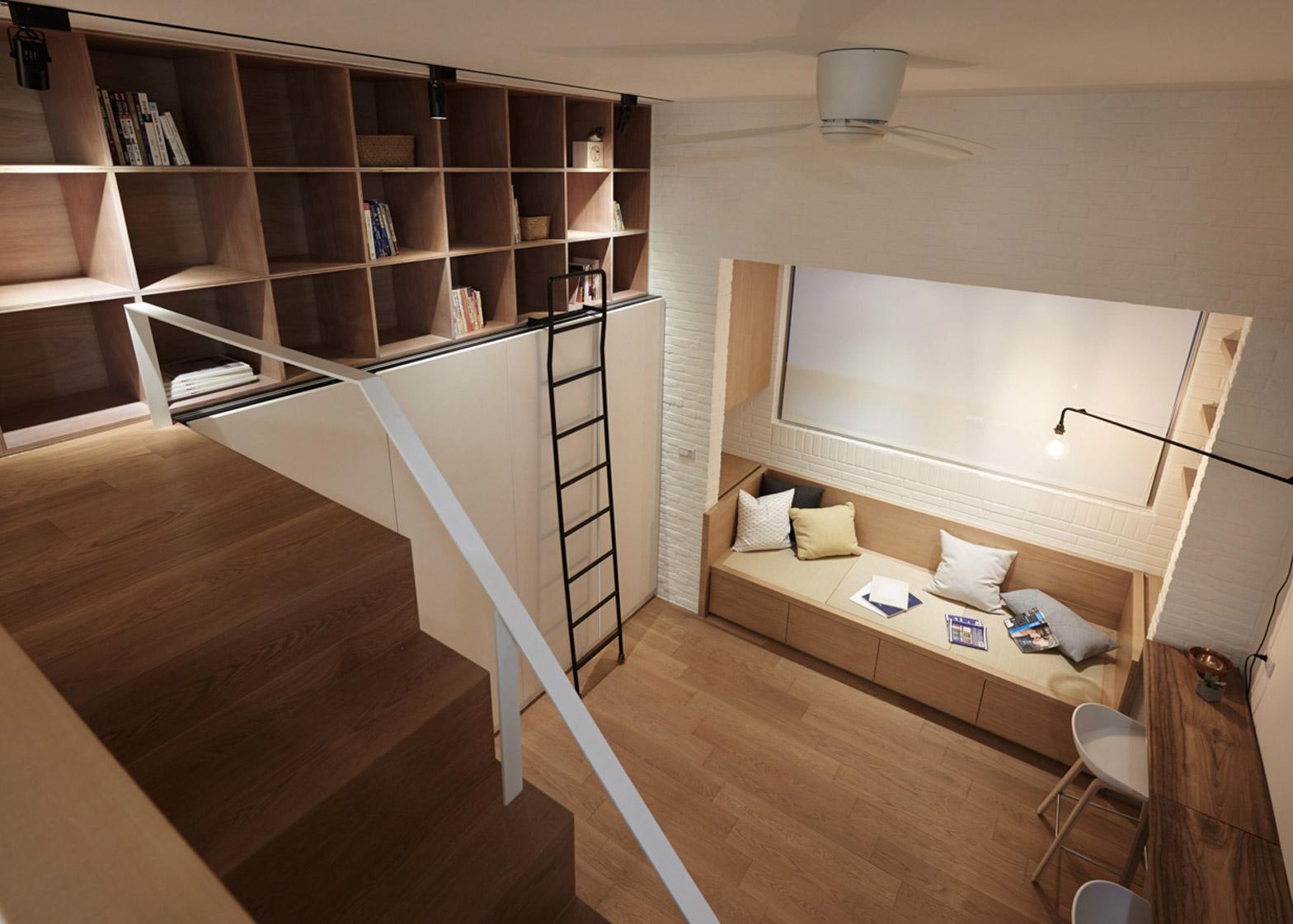 A Little Design creates 22m2 apartment in Taiwan