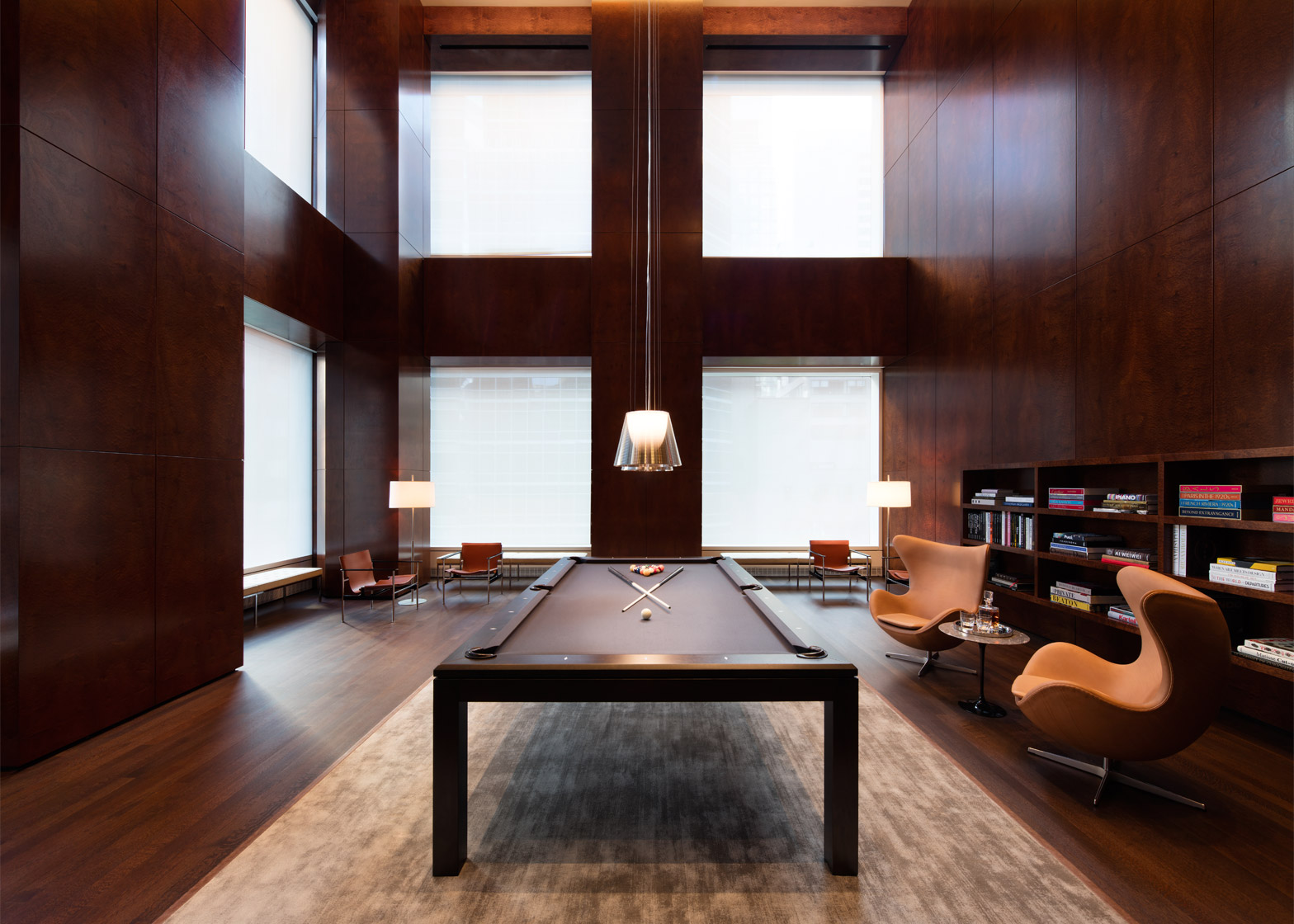 Interior of 432 Park Avenue by Rafael Viñoly architects