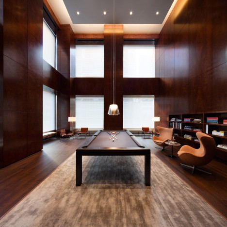 Photos offer glimpse at interiors of Rafael Viñoly's 432 Park Avenue