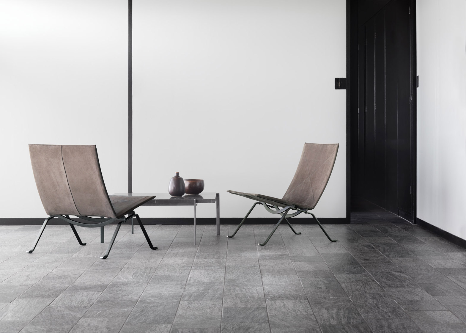 60th Anniversary Set by Poul Kjaerholm at Fritz Hansen