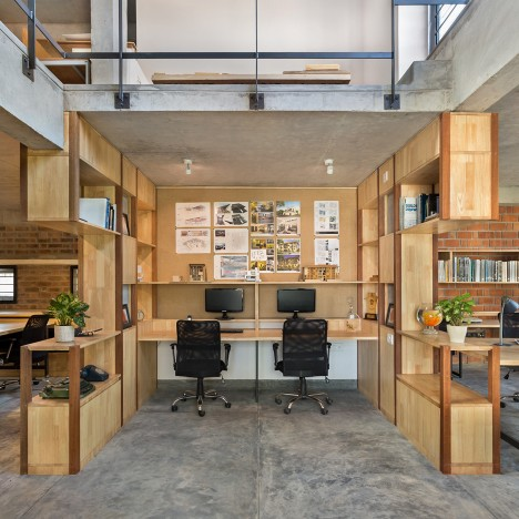 12 design studios that architects have created for themselves for Between spaces architecture bangalore