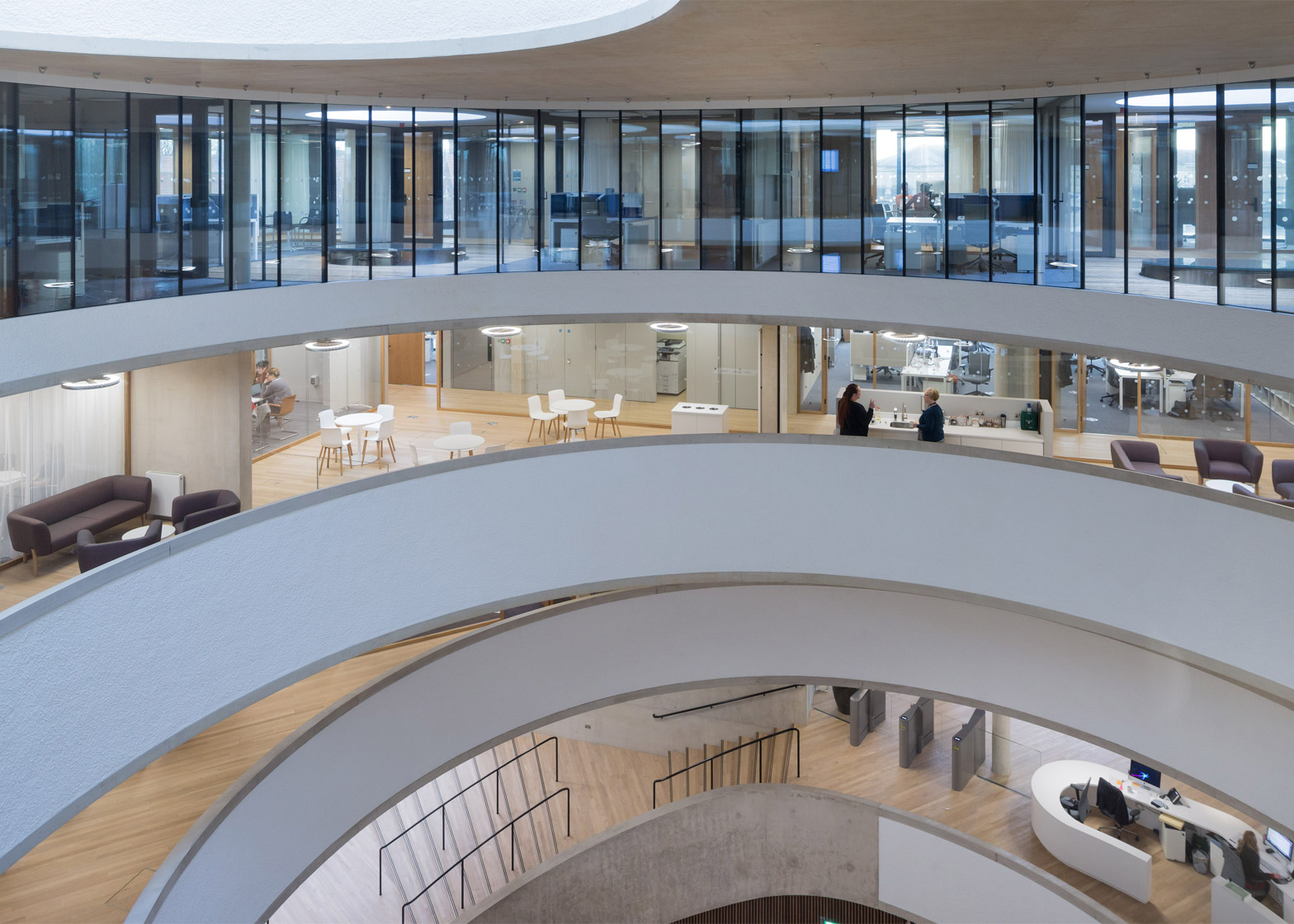 Blavatnik School of Government, University of Oxford by Herzog & de Meuron. Photograph by Iwan Baan