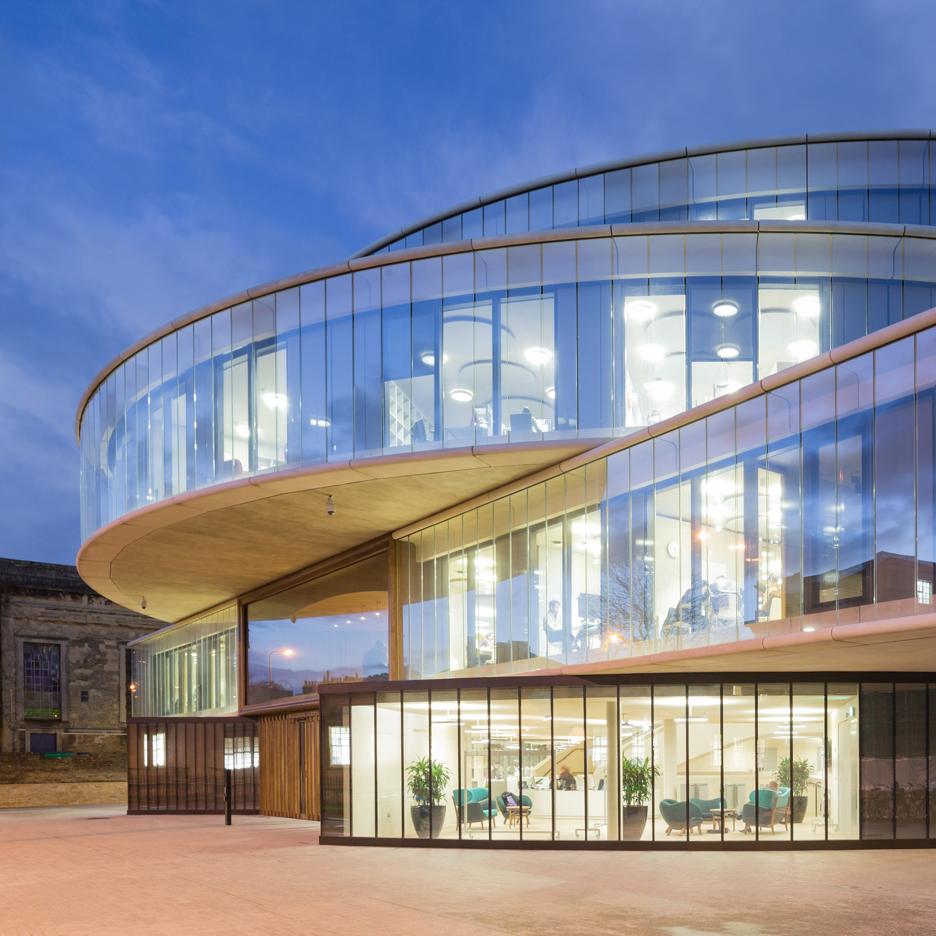 Blavatnik School of Government by Herzog & de Meuron