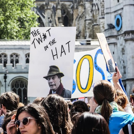 Brexit-protest-Edmund-Sumner-photographer-Instagram-Nigel-Farage-EU-referendum-London-Parliament-Square-sq