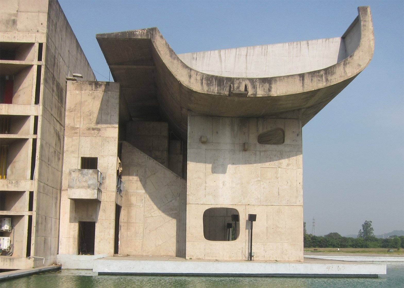 Legislative Assembly, Complexe du Capitole, Chandigarh, India, 1952