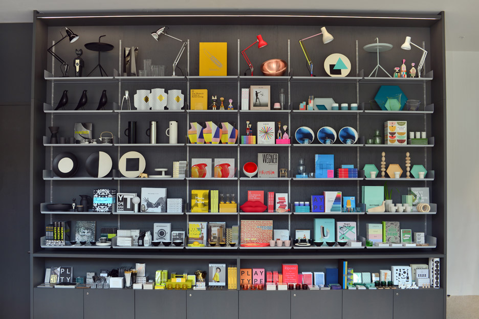 Design Museum shop on Kensington High Street