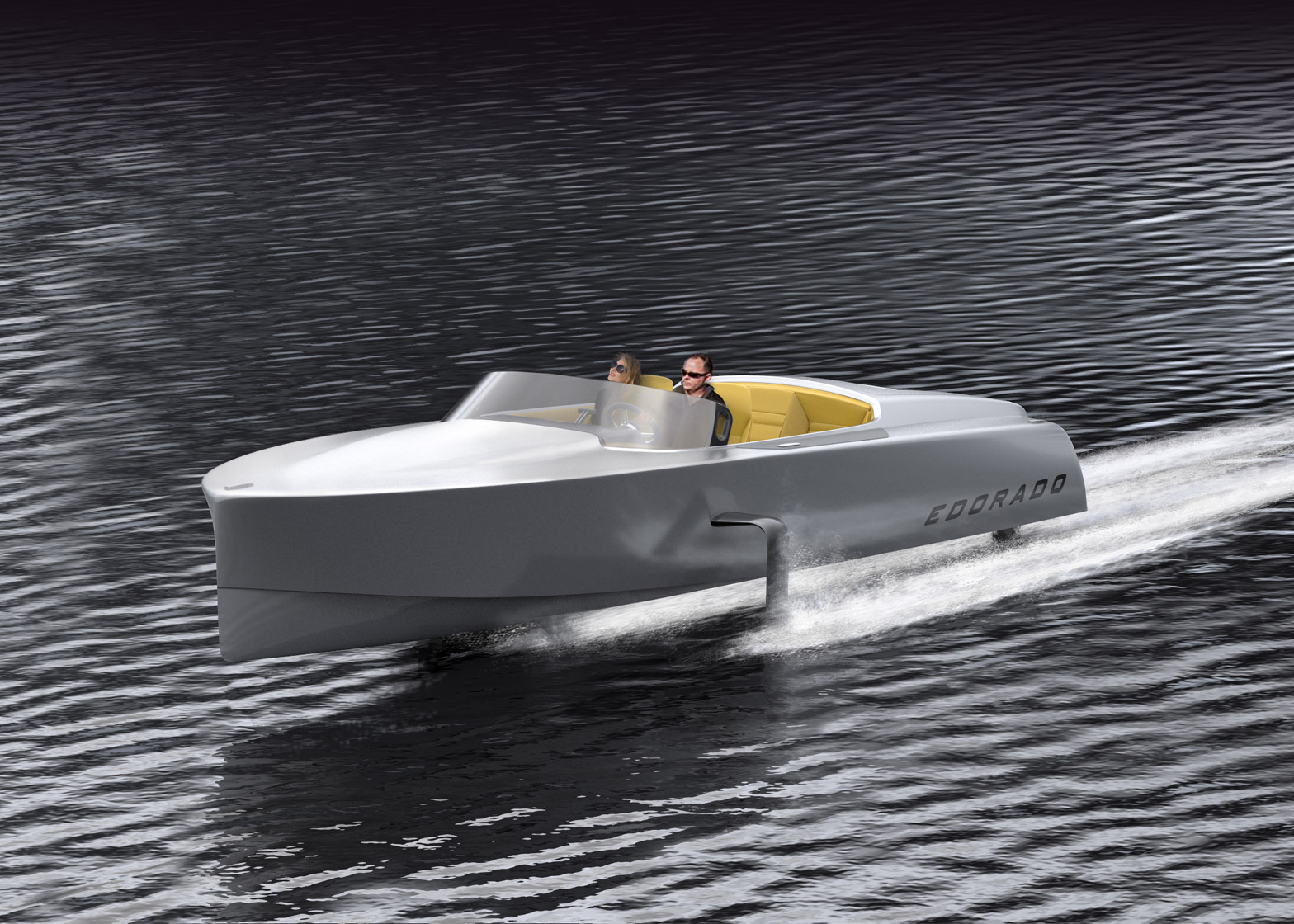 Edorado S7 electric powerboat