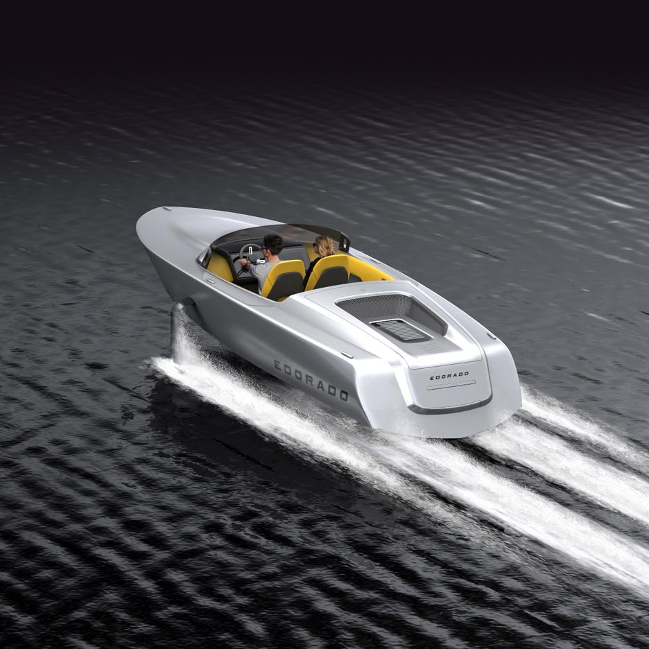 Edorado Marine introduces commercial electric speedboat