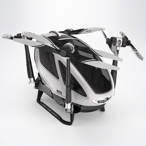 Passenger-carrying drone by Ehang