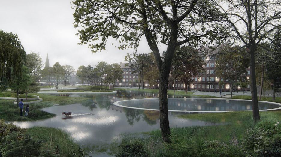 Hans Tavsens Park and Korsgade by SLA and Ramboll