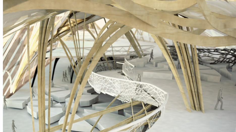 Harvard Graduate School of Design student proposal for Google Campus