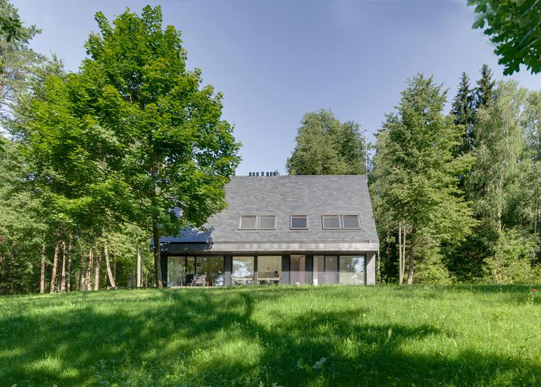 House in Trakai, Lithuania, by Aketuri Architektai
