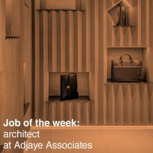 Job Of The Week Architect At Adjaye Associates