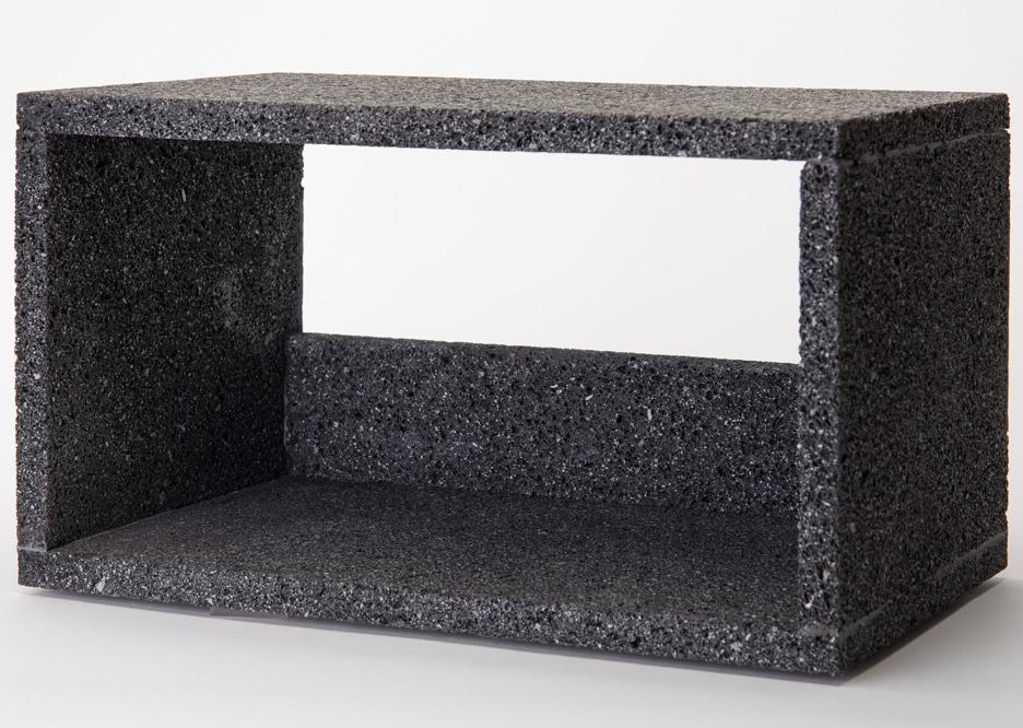 Lava shelves by Peca