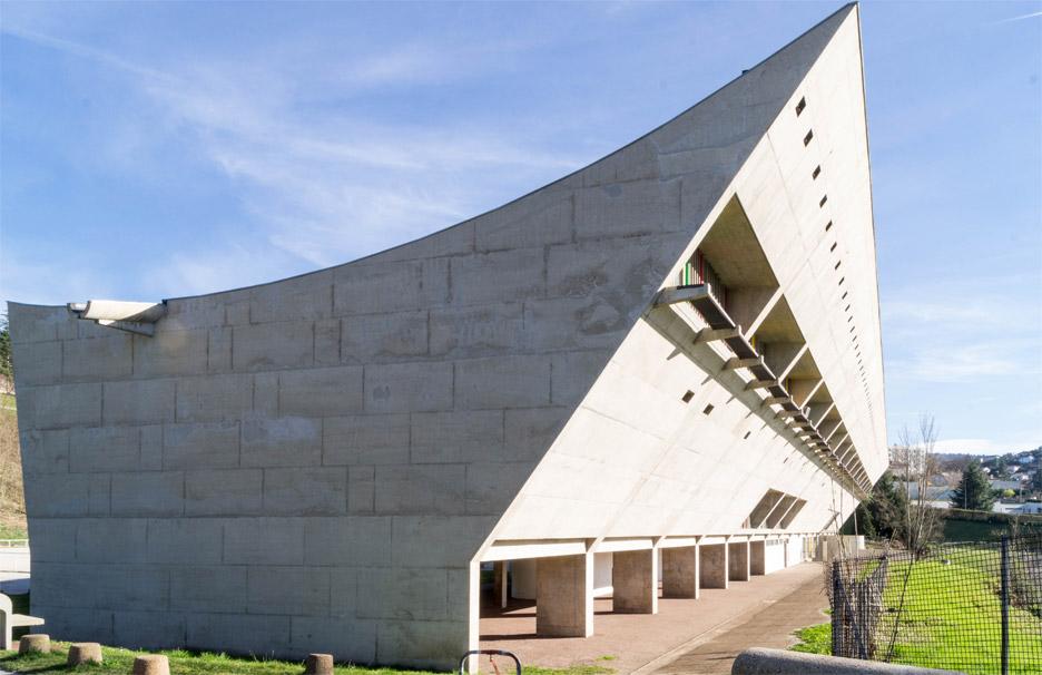 Maison de la Culture in Firminy, France
