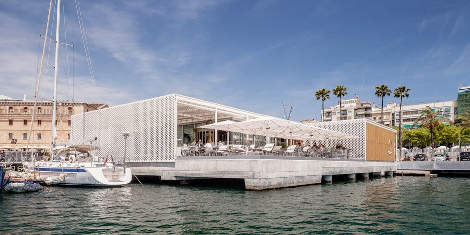Marina Port vell Barcelona by SCOB Architecture and Landscape