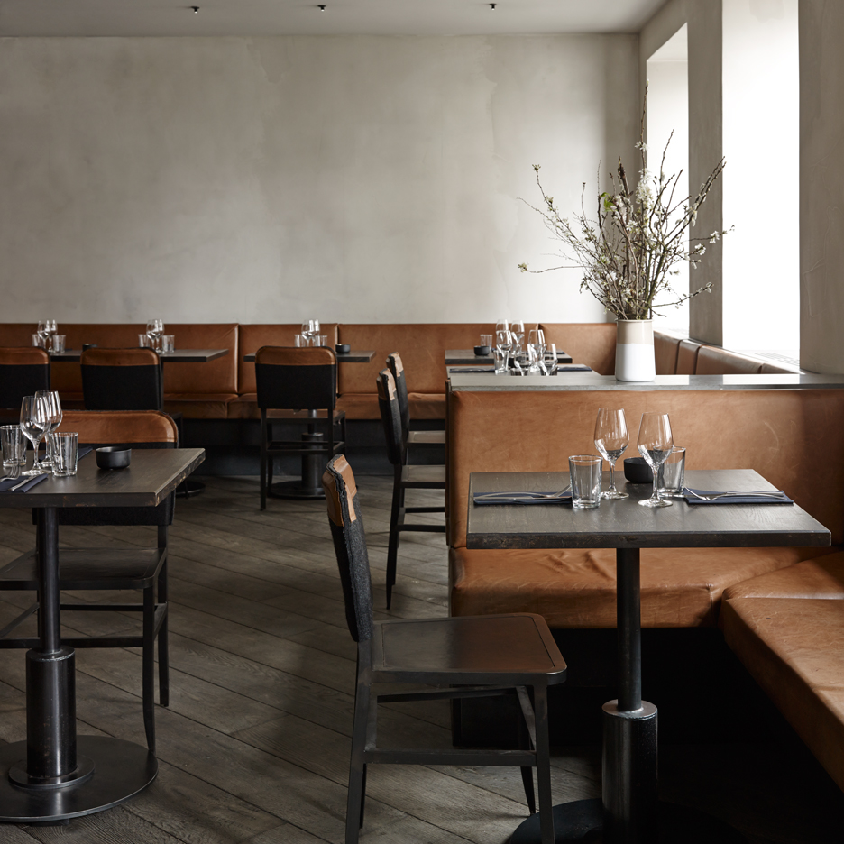 Simple materials shape Space Copenhagen's interior for Musling restaurant