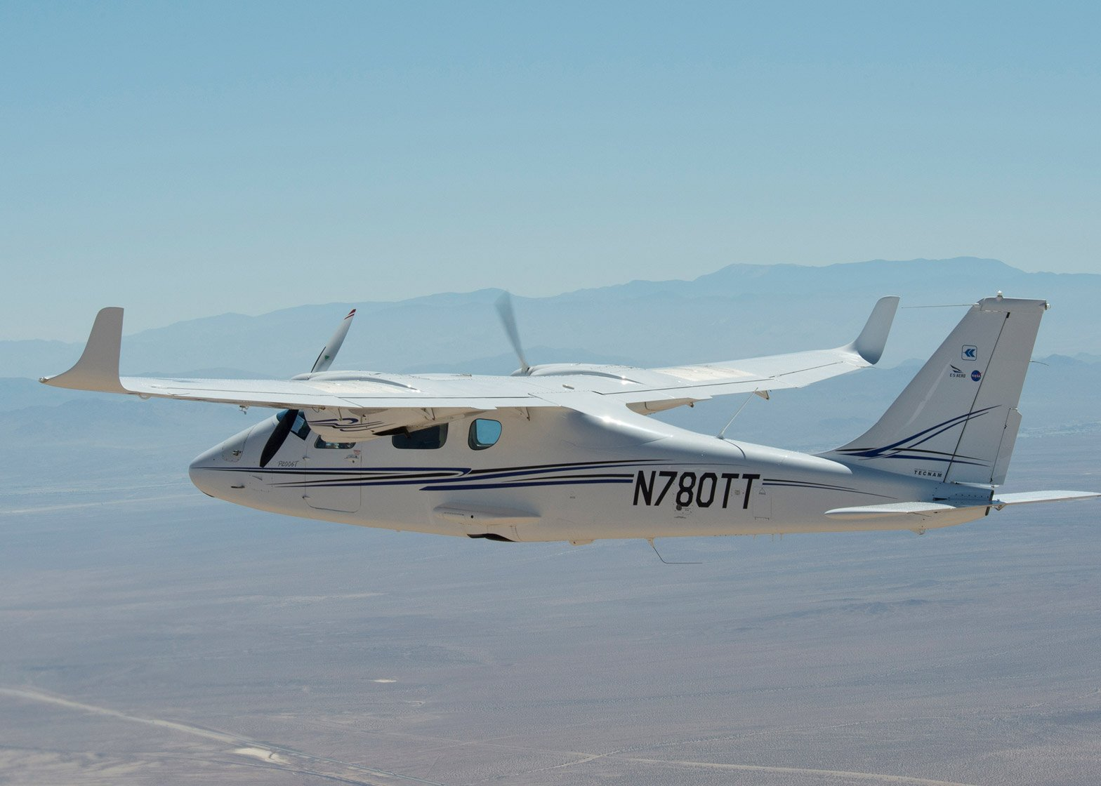 NASA unveil X 57 aircraft, an experimental electric airplane which could lead to reduced flight times and carbon emissions