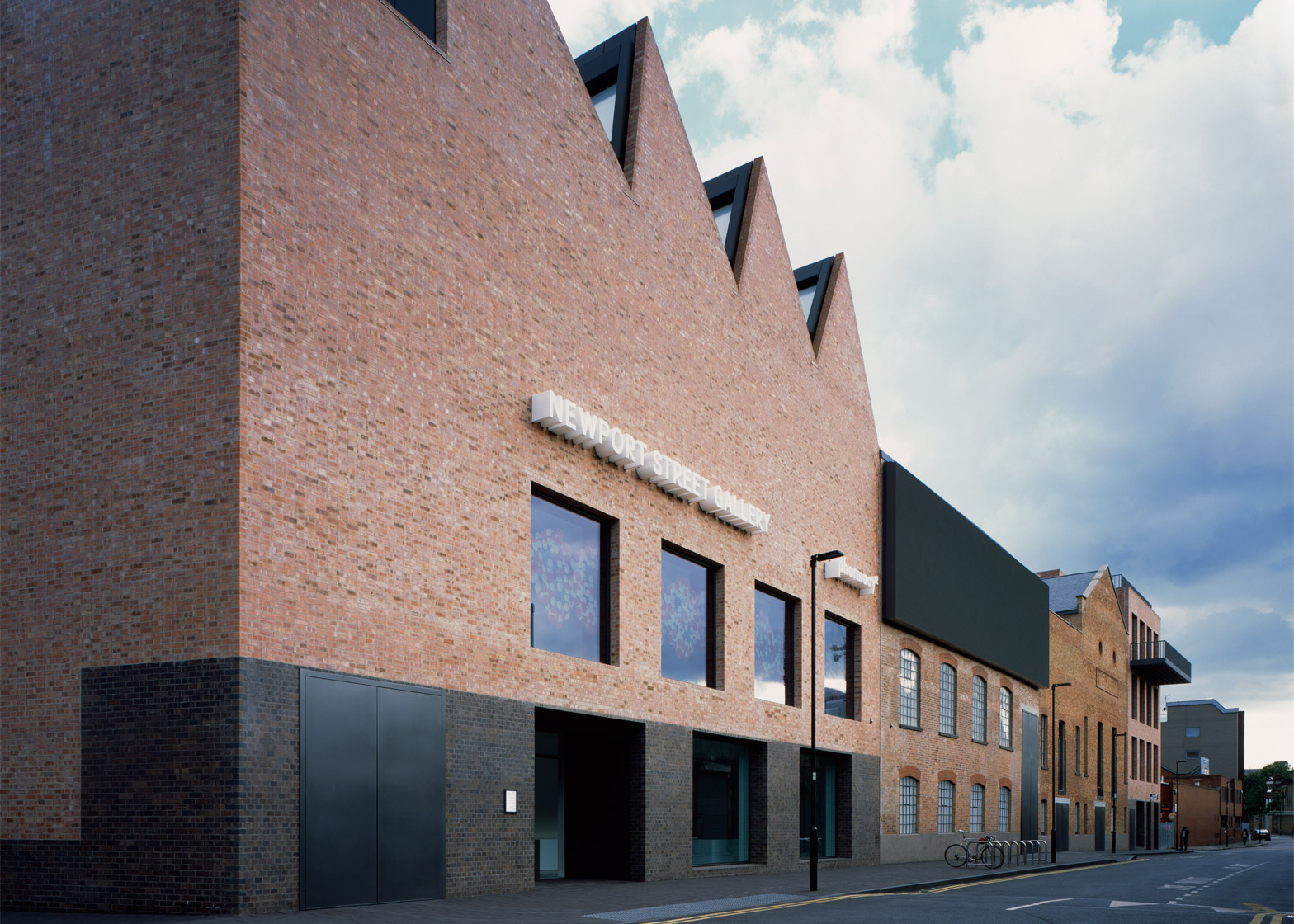 Newport Street Gallery, Vauxhall, London by Caruso St John Architects. Photograph by Hélène Binet