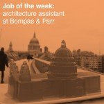 Job of the week: architecture assistant at Bompas & Parr