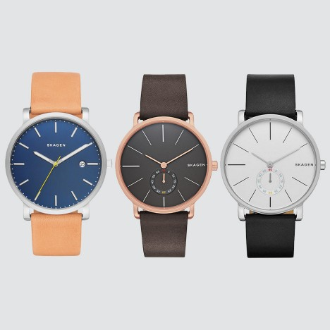 Skagen's bestselling Hagen watch arrives at Dezeen Watch Store in new colours