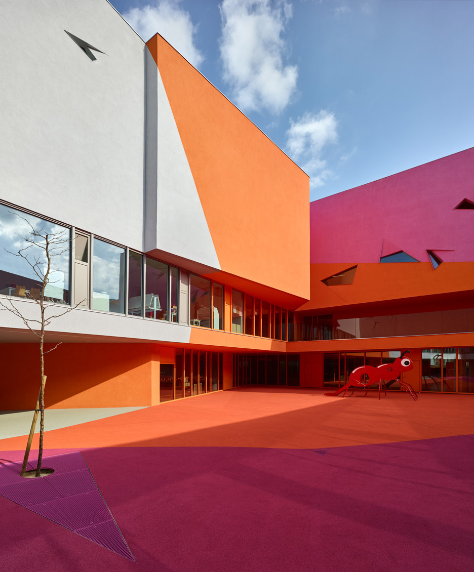 School in Colombes by Dominique Coulon & Associés