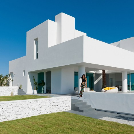 Summer House in Santorini Kapsimalis Architects architecture Greece Dezeen