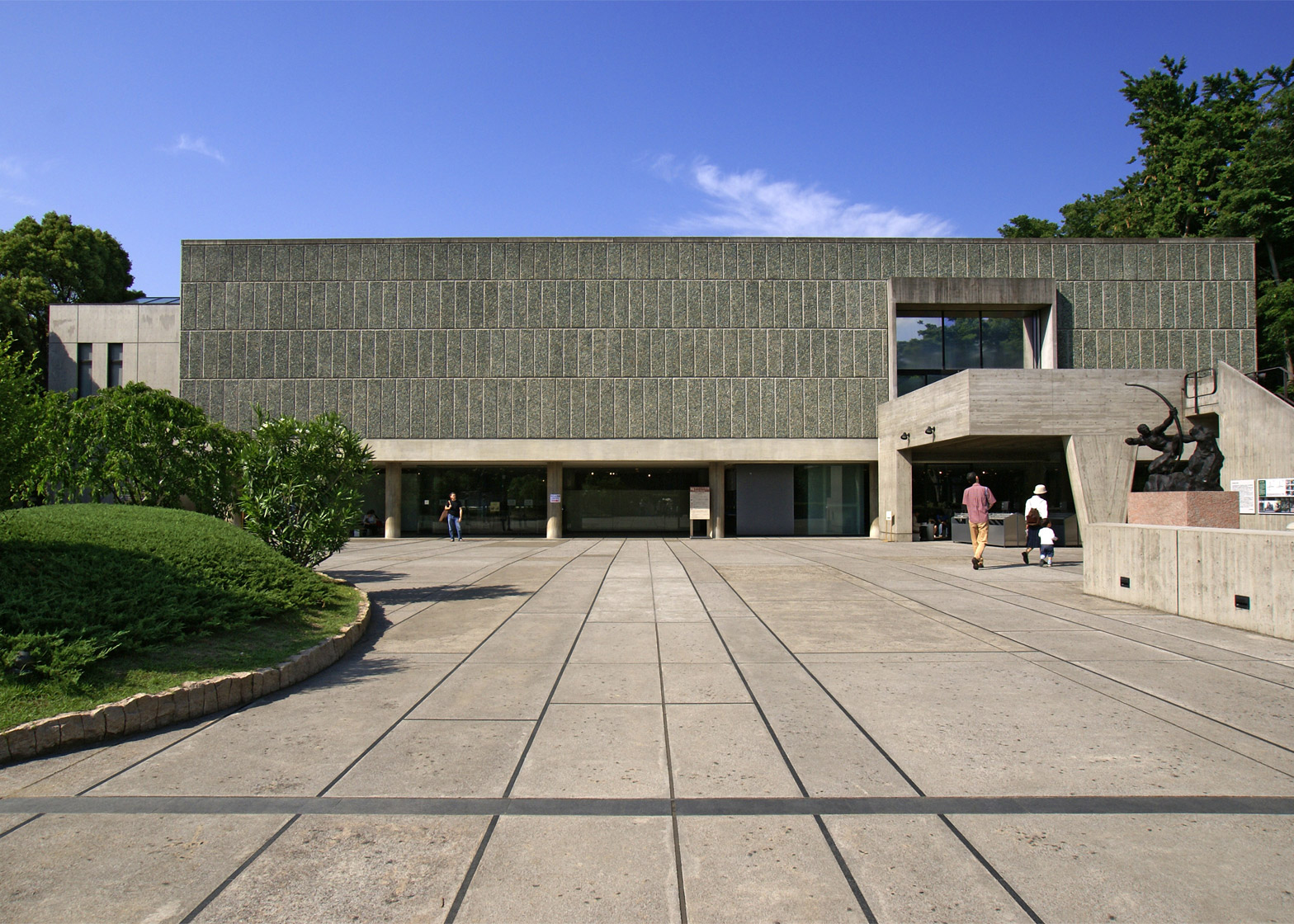 Musée National des Beaux-Arts de l'Occident, Taito-Ku, Tokyo, Japan, 1955
