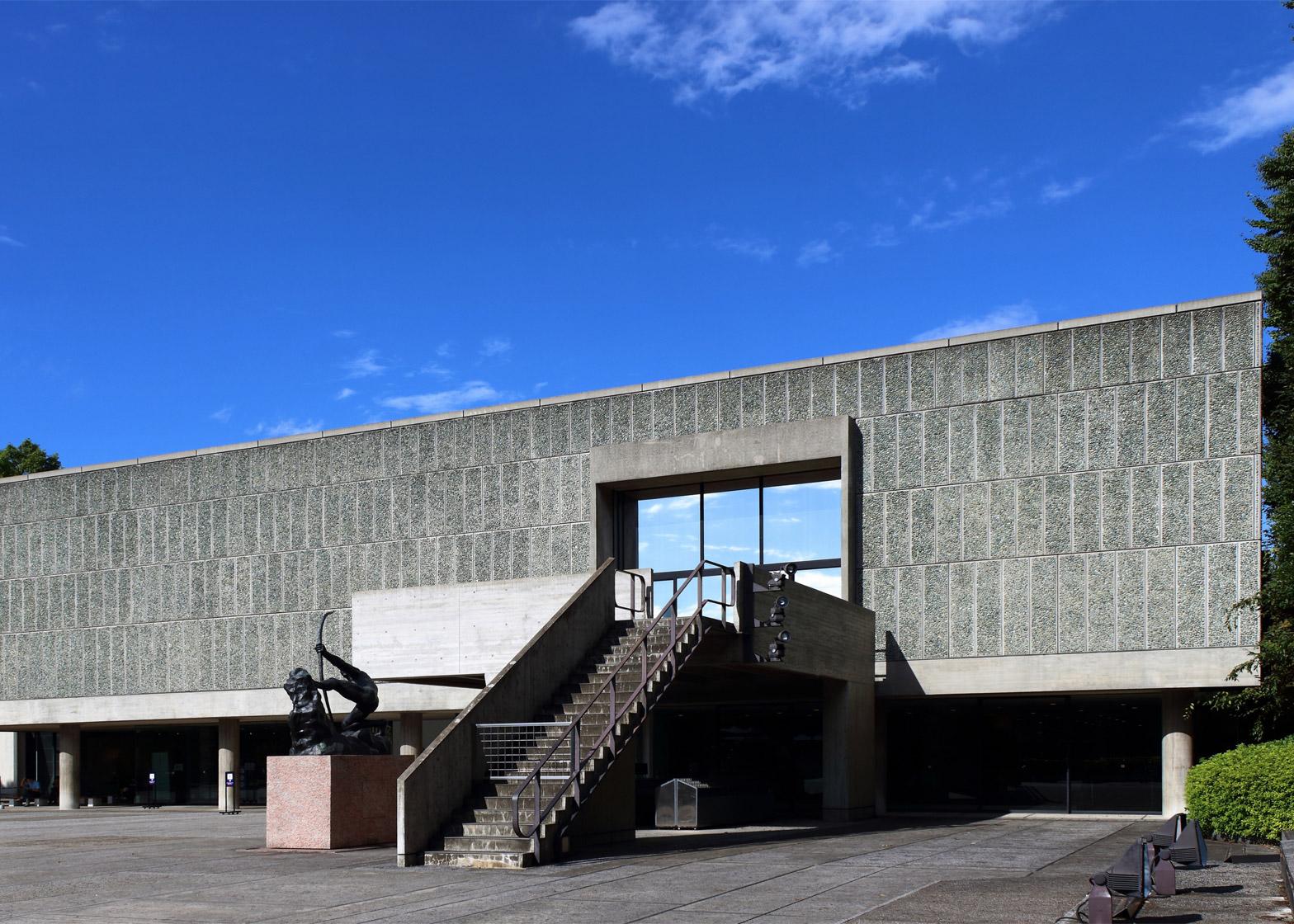Musée National des Beaux-Arts de l'Occident, Taito-Ku, Tokyo, Japan, 1955