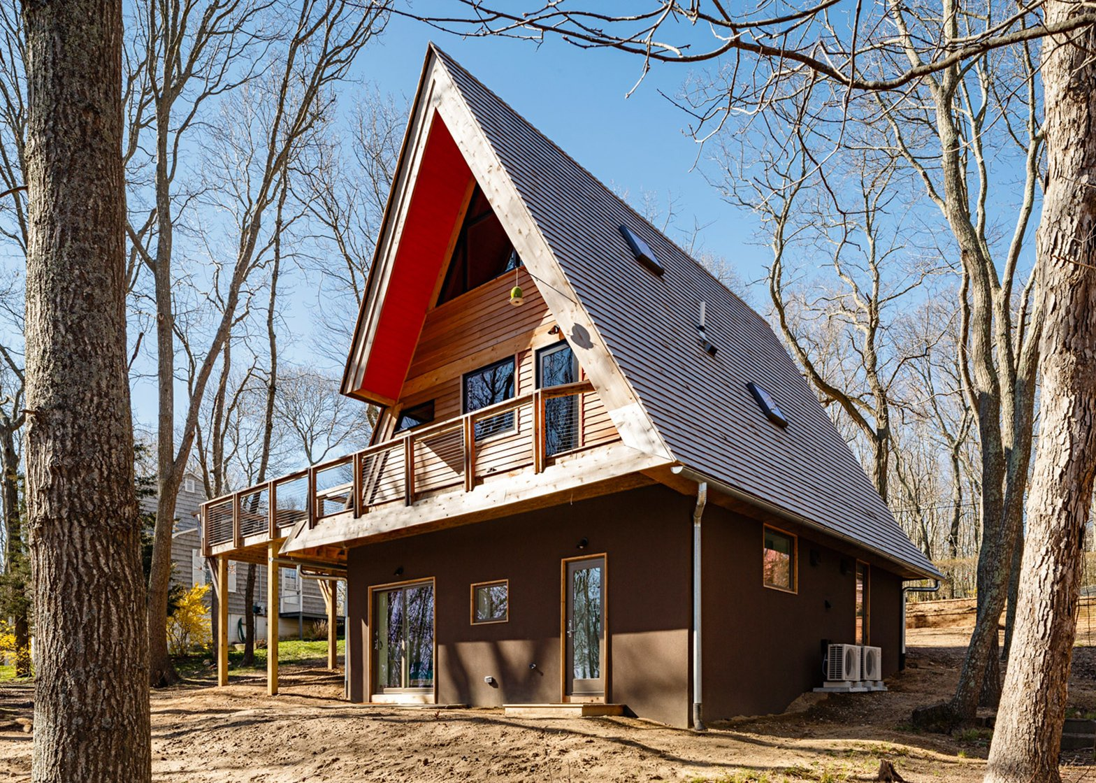 Triangle House, USA, by Doon Architecture