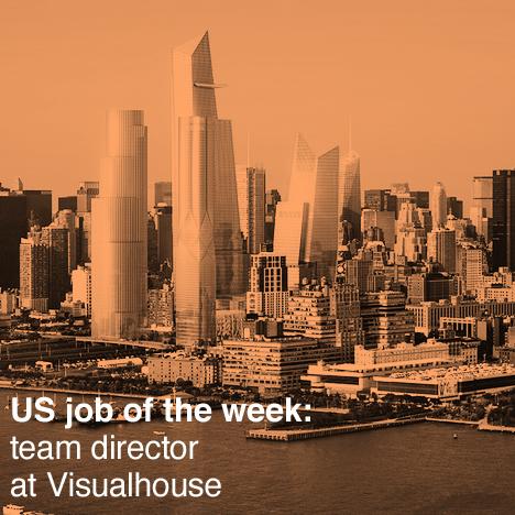 Dezeen US job of the week