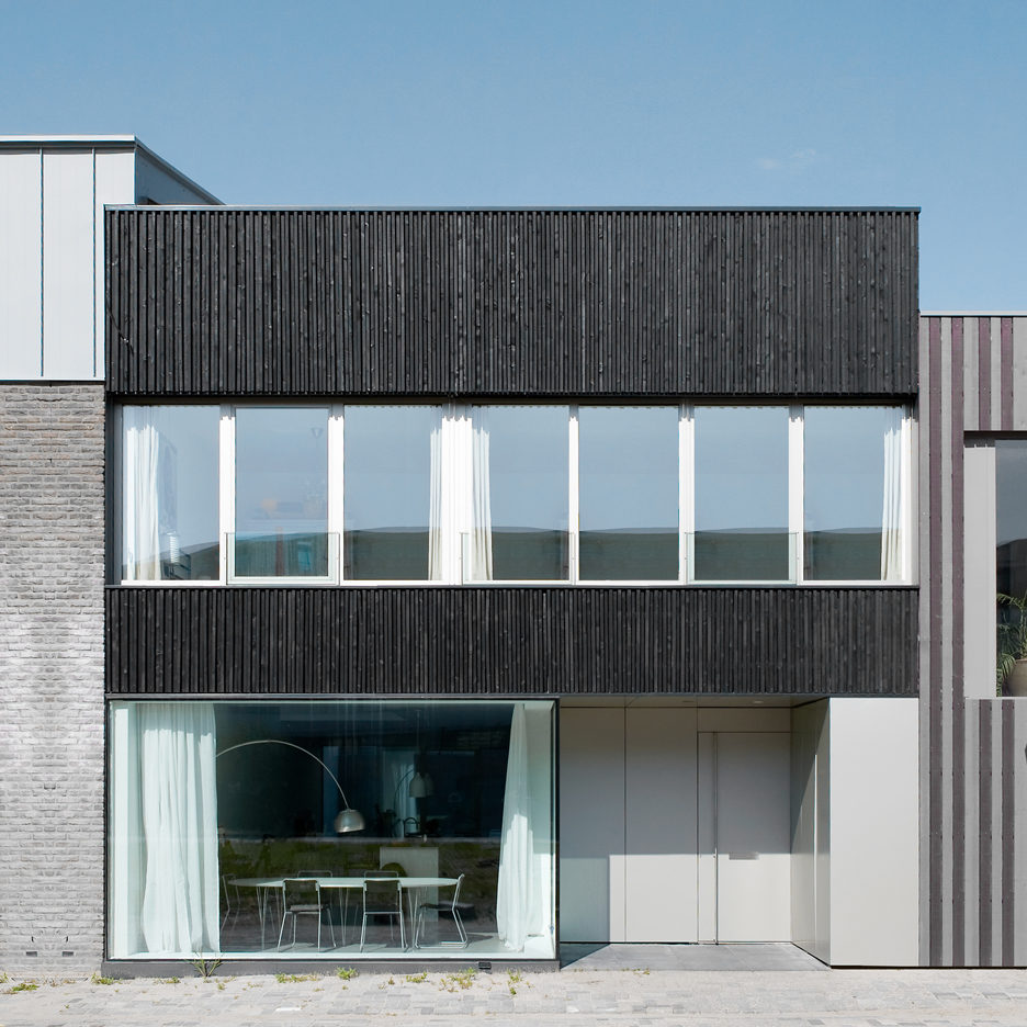 V13K05, a house and office space designed by Pasel Kuenzel architects in the Dutch city of Leiden