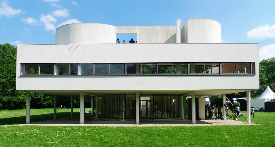 Villa Savoye near Paris, France
