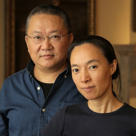 Chinese architects Wang Shu and Lu Wenyu